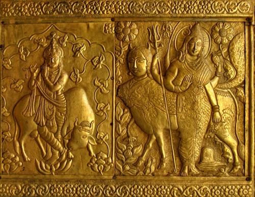 Золотые ворота храма Бхимакали
