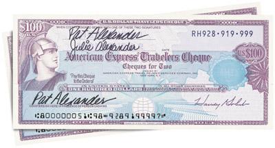 дорожные чеки American Express