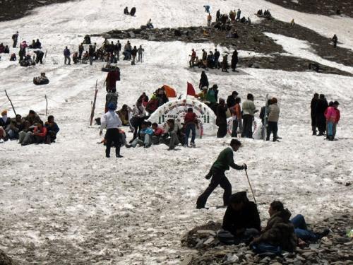 отдыхают индийские туристы