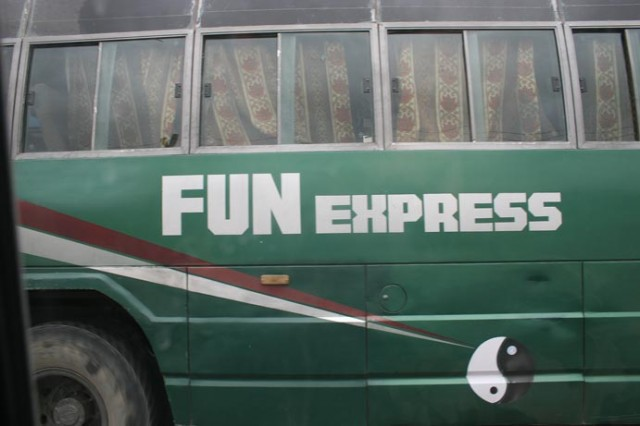 Автобус в Ладакхе