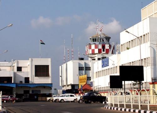 Международный аэропорт г. Тривандрум (Керала)