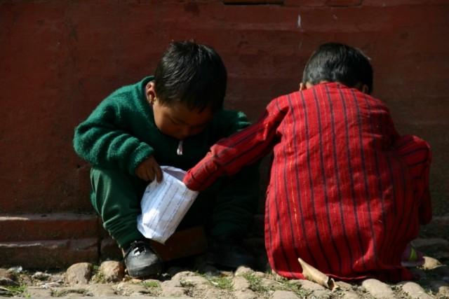 В Катманду. Непал