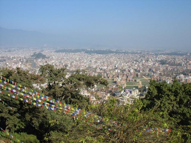 Ступа Сваямбунат в Катманду