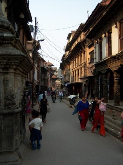 Улочка в Патане