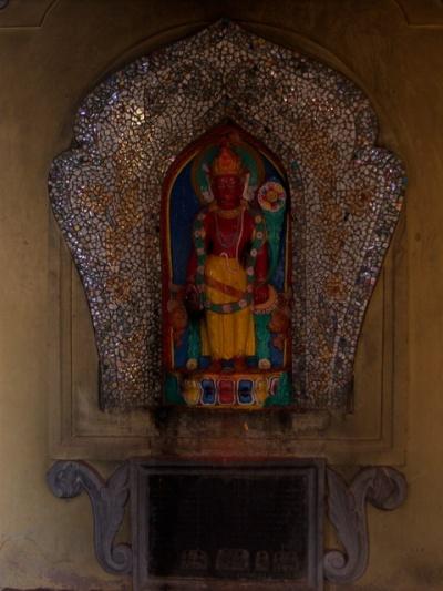 Статуя Ваджрайогини в Храме