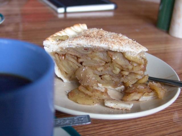 Яблочный пирог. Manang