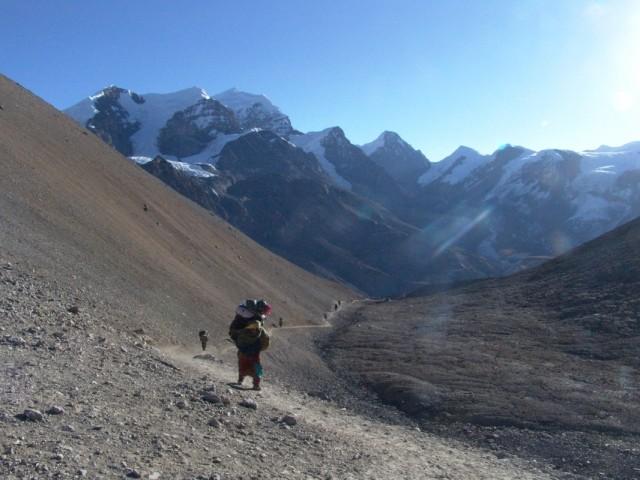 Перевал и многокилометровые тропы