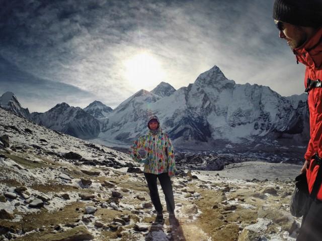 я и Эверест)