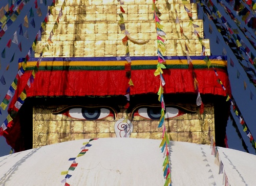 Глаза Будды