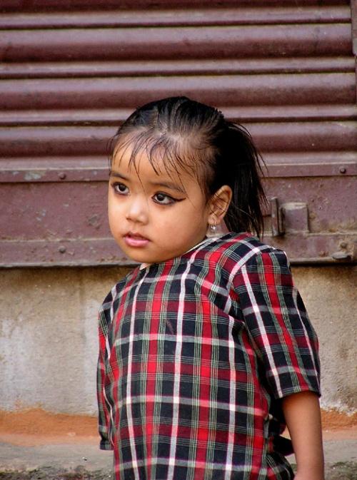 Кумари из пригорода Катманду