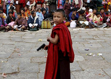 Monks With Guns