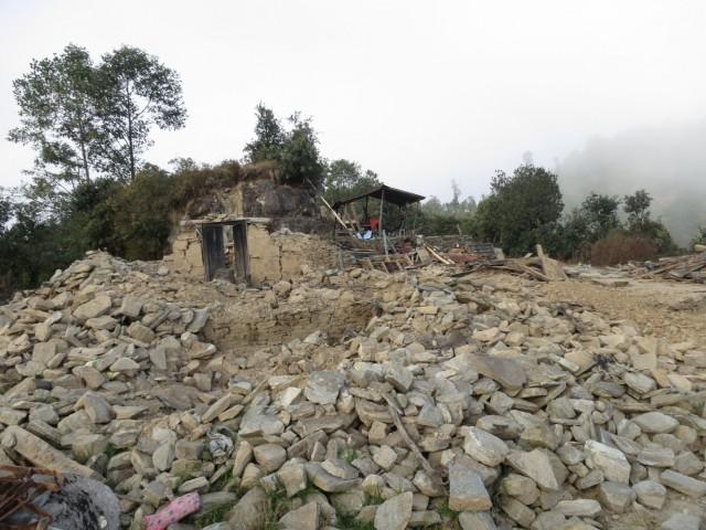 Так выглядят многие дома в Хеламбу