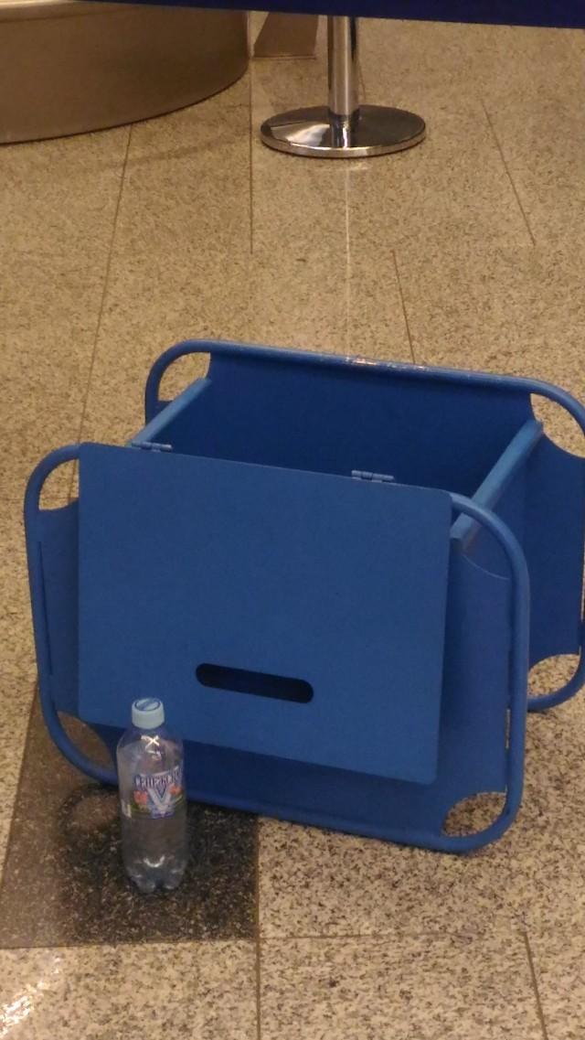 Ящик для измерения ручной клади.