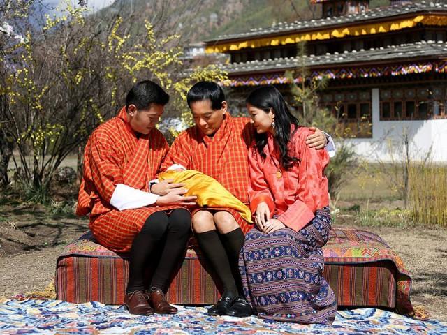 Три поколения королей Бутана