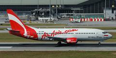Самолет авиакомпании AirAsia