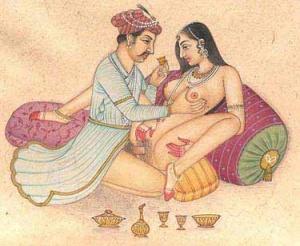 Иллюстрация из Кама-сутры