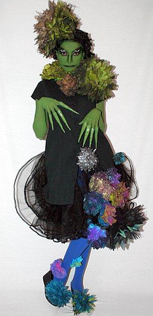 Кикимора костюм своими руками фото