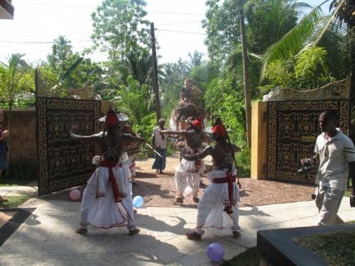 свадьба на территории отеля