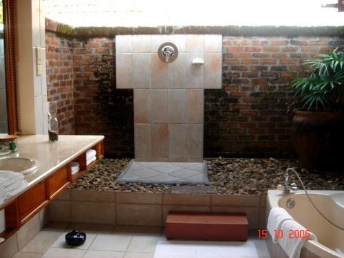 Saman Villas. Ванная комната в номере superior suite